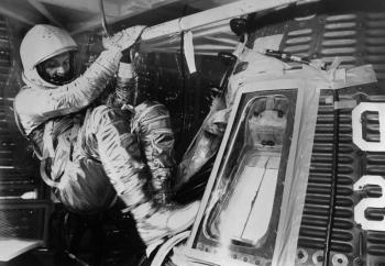 John Glen and Mercury