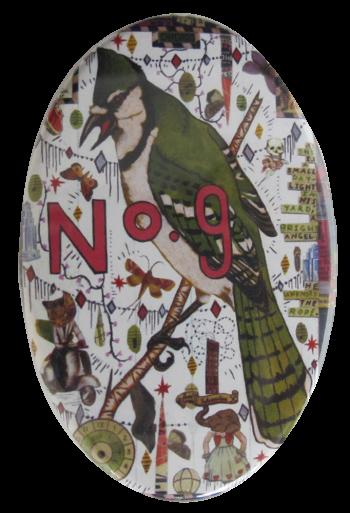 Tony Fitzpatrick's No. 9 Art Button Museum