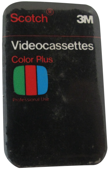Scotch Videocassettes Advertising Button Museum