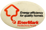 EnerMark The Electricity People Advertising Busy Beaver Button Museum