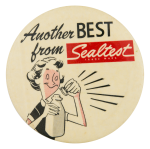 Another Best From Sealtest Advertising Button Museum