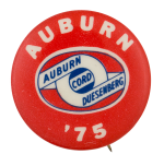 Auburn '75 Advertsing Button Museum