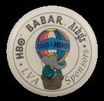 Babar LVA Sponsors Advertising Busy Beaver Button Museum