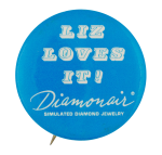Diamonair Advertising Button Museum