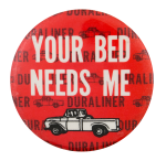 Duraliner Advertising Button Museum
