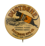 Dustbane Advertising Button Museum