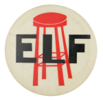 Elf Advertising Button Museum