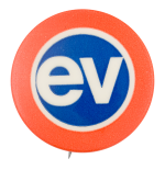EV Advertising Button Museum