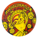 Houlihan's Old Place Advertising Button Museum