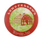 Longfellows Wayside Inn Advertising Button Museum