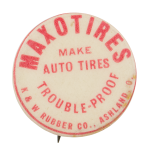 Maxotires Advertising Button Museum