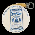 Pennsylvania Salt Manufacturing Company dvertising  Button Museum