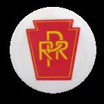 Pennsylvania Railroad Advertising Button Museum