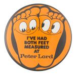 Peter Lord Advertising Button Museum