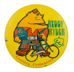 Reddy Ryder Advertising Button Museum