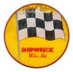 Shipwreck Advertising Button Museum