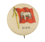 Siam Flag Advertising Button Museum