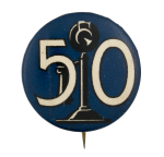 Telephone 50th Anniversary Event Button Museum