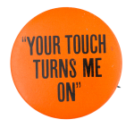 Touchlite Inc Advertising Button Museum