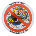 We Deliver For Yule Advertising Button Museum