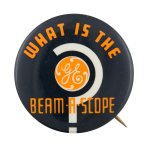 What is the Beam-A-Scope Advertising Button Museum