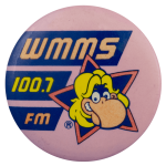 WMMS 100.7 FM Advertising Busy Beaver Button Museum