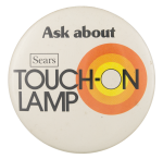 Touch-On Lamp Ask Me Button Museum