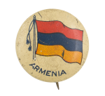 Armenia Flag Art Button Museum
