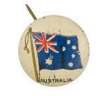 Australia Flag Art Button Museum