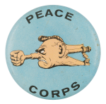 Basil Wolverton Peace Corps Art Button Museum