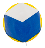 Blue Cube Art Button Museum