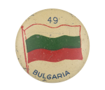 Bulgaria Flag Art Button Museum
