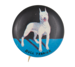 Bull Terrier Art Button Museum