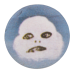 Cloud Face Music Button Museum