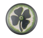 Four Leaf Clover Art Button Museum