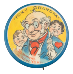 Foxy Grandpa Art Button Museum