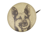 German Shepherd Art Button Museum