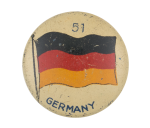 Germany Flag Art Button Museum