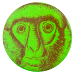 Green Monkey Art Button Museum