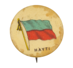 Hayti Flag Art Button Museum