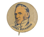 James Buchanan Political Button Museum