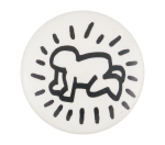 Keith Haring Radiant Baby Art Button Museum