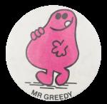 Mr Greedy Art Button Museum