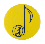 Musical Note Art Button Museum