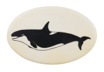 Orca Whale 2 Art Button Museum