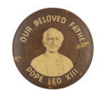 Pope Leo XIII Art Button Museum