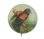 Red-Winged Blackbird Art Button Museum