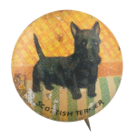 Scottish Terrier Art Button Museum