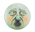 Shocked Face Art Button Museum