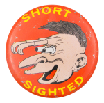 Basil Wolverton Short Sighted Art Button Museum